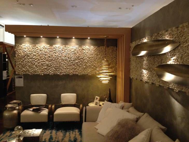 Living Room decorated with Valpaint Klondike Light