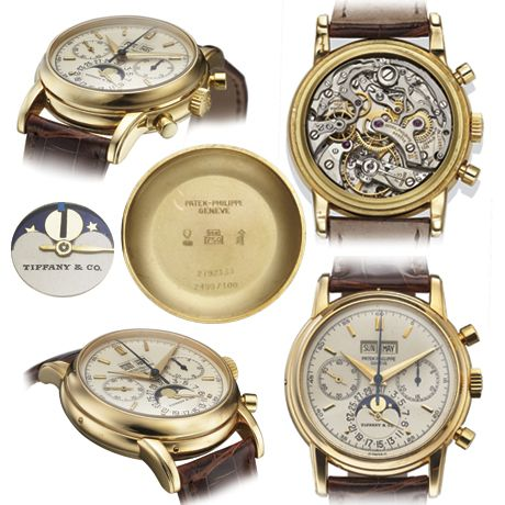 Patek Philippe Ref. 2499/100 Fourth Series retailed by Tiffany & Co.