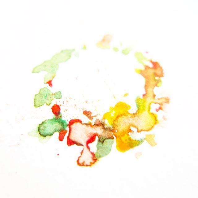 Mini autumn wreath 🍂 #sketch #calendar2017