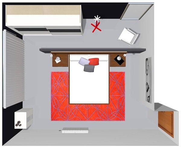 Las 25 mejores ideas sobre pared detr s de la cama en for Enchufes planos para detras muebles