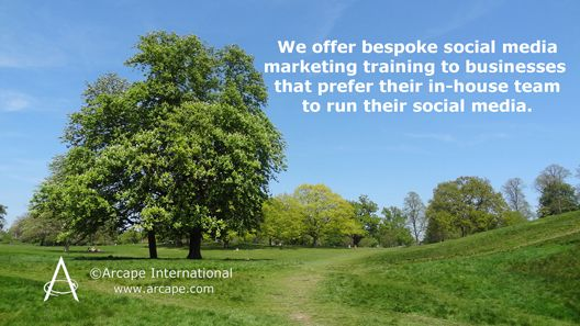 Arcape offers tailored social media marketing training to businesses that prefer to run their social media in-house. Our Suffolk clients can take advantage of the Employer Training Incentive Pilot (ETIP), administered by Suffolk Chamber of Commerce, and apply for a 25% return on their investment in their staff.