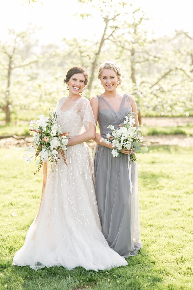 The 25 best metal grey bridesmaid gown colors ideas on pinterest romantic wedding inspiration at hickory hill orchards bridesmaid gownswedding ombrellifo Gallery