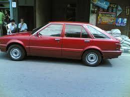 Ägde denna Nissan Stanza på 90-talet