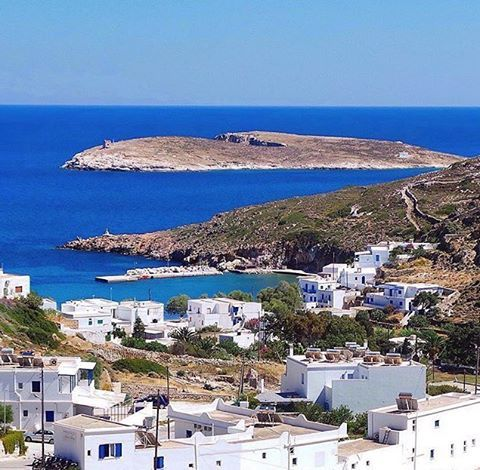 Lovely White & Blue , at Kimolos island (Κίμολος) Very peaceful island with natural beauty !