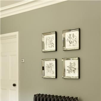 Farrow and Ball - Bedroom in Pigeon - not sure about the name but I quite like the colour