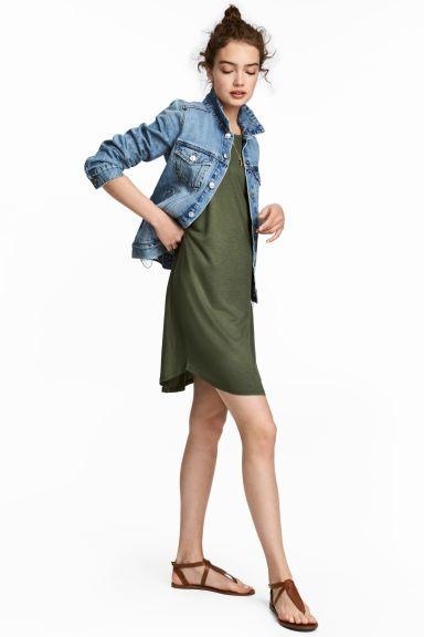Tank-top Dress Model