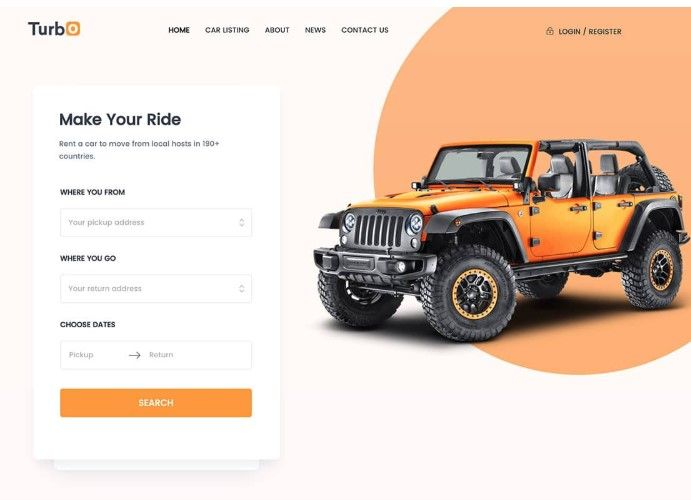 30 Awesome Wordpress Car Rental Themes 2020 In 2020 Car Rental Online Car Rental Car Rental Company
