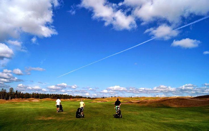 KUUNSÄTEESSÄ: Tapiola Golf, pala Skotlantia Tapiolan läheisyydessä