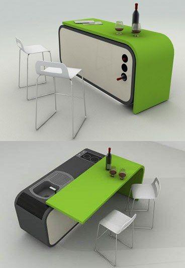 17 meilleures id es propos de lot de cuisine portable sur pinterest id e - Mobilier modulable pour petit espace ...
