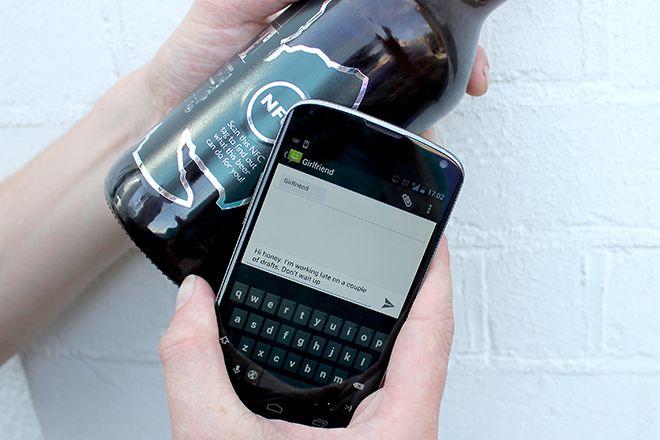 Interactive beer