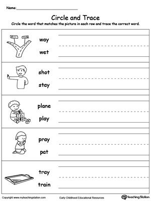 Ed E E Be D B Fa A A C on kindergarten worksheets number families