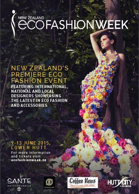 NZEFW15 More details - click the picture twice to go to our website.  Major Supporting Partner - Hutt City Council | Gold Sponsors - Coffee News, Sante Cosmetics, Hodge Property Group