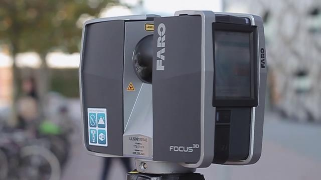 Faro Laser Scanner by OJ. Laser Scanning at Ravensbourne College