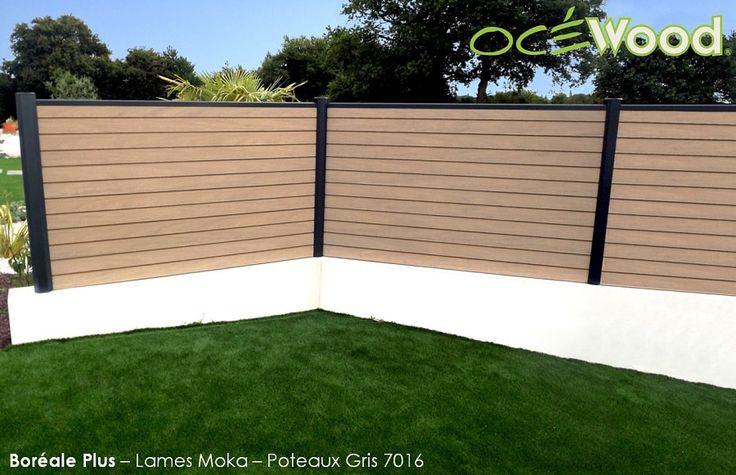 Panneau bois composite couleur bois flotté par Océwood®
