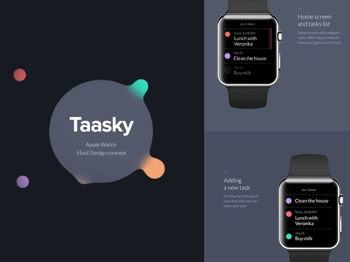 Tassky_Smart Watch