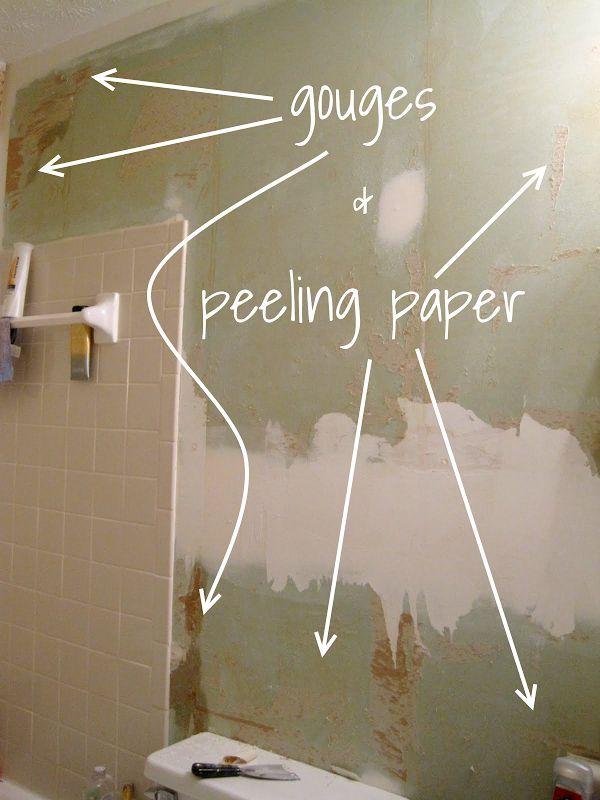 How To Fix and Skim Coat Damaged Drywall | home improvements | Diy home repair, Drywall repair ...