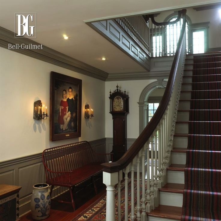 1000 ideas about center hall colonial on pinterest for Colonial foyer ideas