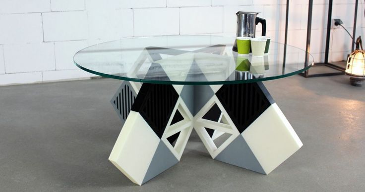 Karo 3D printed coffee table by Zortrax