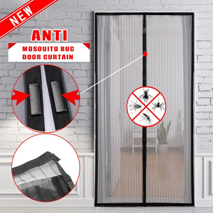 Best 25 door curtains ideas on pinterest door window for Mosquito net for french doors