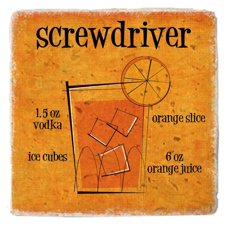 Cocktail Screwdriver