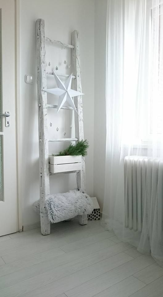 Létra! Felújítottam! Ladder! Restoration! Diy! Scandinavian desing!