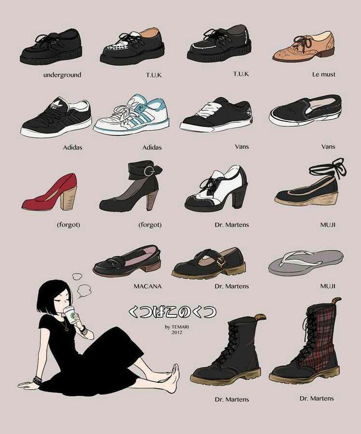 Preguntarse Continuamente ocio  Drawing Shoe Reference underground TUK Adidas Vans Macana #adidas #drawing  #macana #reference #underground Sour… | Fashion sketches, Art clothes,  Drawing clothes