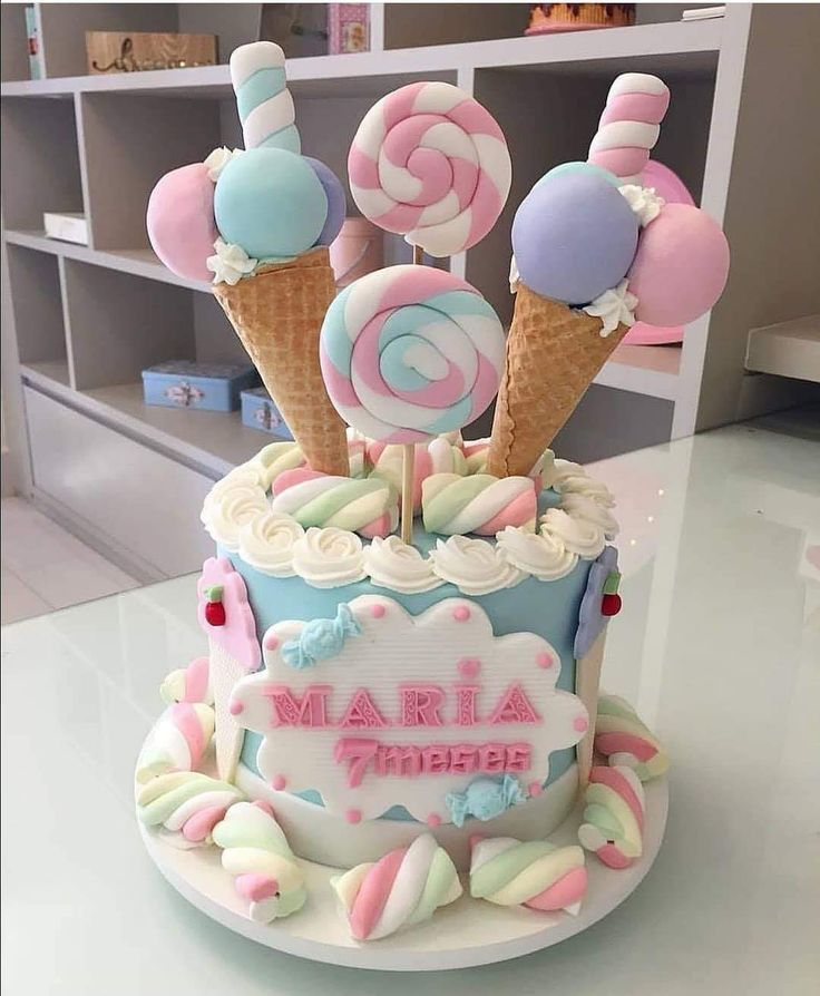 Terrific Such A Fun Birthday Cake Cool Birthday Cakes Candy Land Funny Birthday Cards Online Elaedamsfinfo