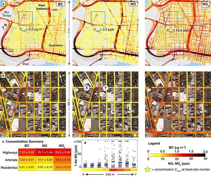Recurren a Google Street Wiew para medir la contaminación calle a calle. Investigadores de ingeniería de la Universidad de Texas en Austin han desarrollado el mapa más detallado y extenso de la contaminación atmosférica jamás...