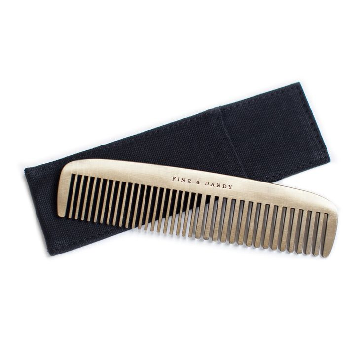 Fine & Dandy - Brass Comb - From The Owl  - 1