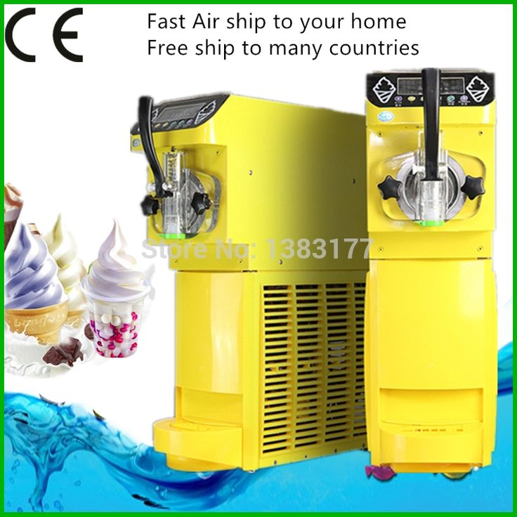 (1390.35$)  Know more - http://aivlr.worlditems.win/all/product.php?id=32716782744 - Commercial Mini Ice Cream Maker 18L/h Soft Ice Cream Machine Make Sundae Ice Cream 110~220V/500W 0.4HP Compressor