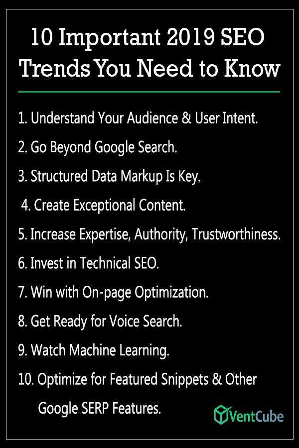 10 Important 2019 Seo Trends You Need To Know Seo Services Outsource Web Design Seo Help
