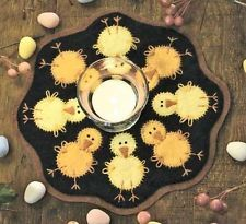 Bareroots Little Stitchies 136 Chicks Candle Mat Easter Pattern