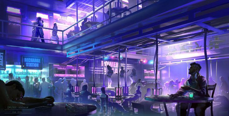 Dmitry Sorokin Design: Cyberpunk RPG