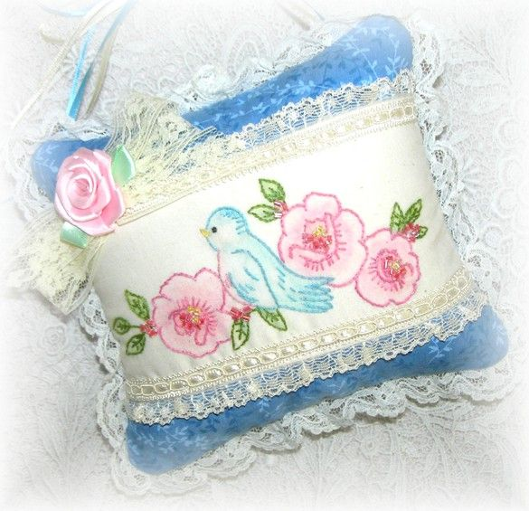 bluebird hand embroidery patterens | ... Embroidery Blog by Pamela Kellogg of Kitty and Me Designs: May 2012