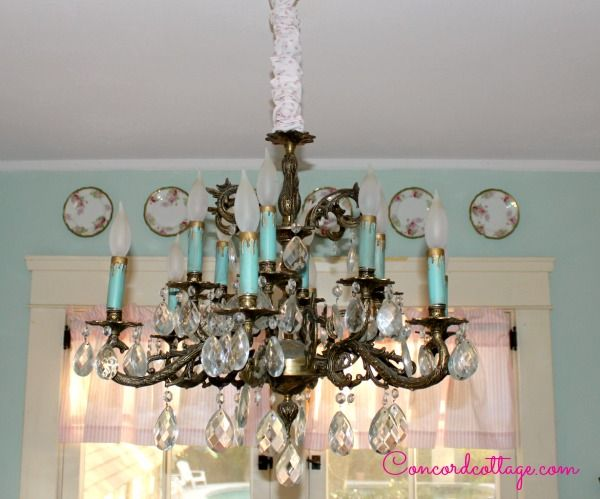 How To Make A Chandelier Chain Cover