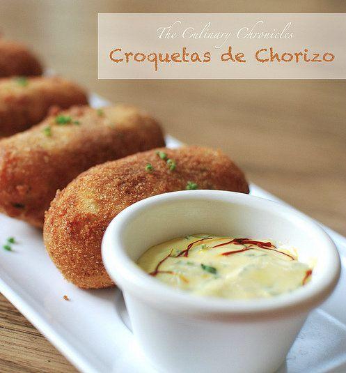 Recipe for Croquetas de Chorizo