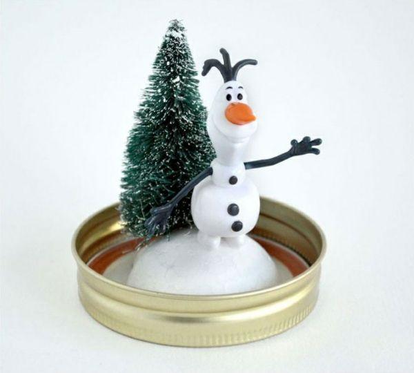 234 besten weihnachtsdeko basteln bilder auf pinterest weihnachtsdeko basteln - Schneemann olaf basteln ...