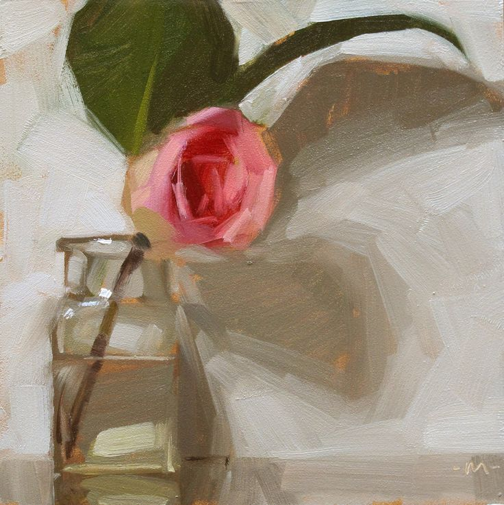 Carol Marine's Painting a Day: Flowers Away