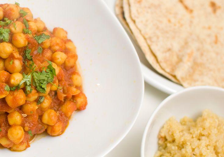 Oppskrifter på indisk veganmat