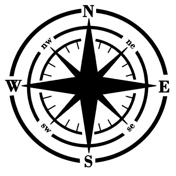 Compass Wall Art - Something to Craft About