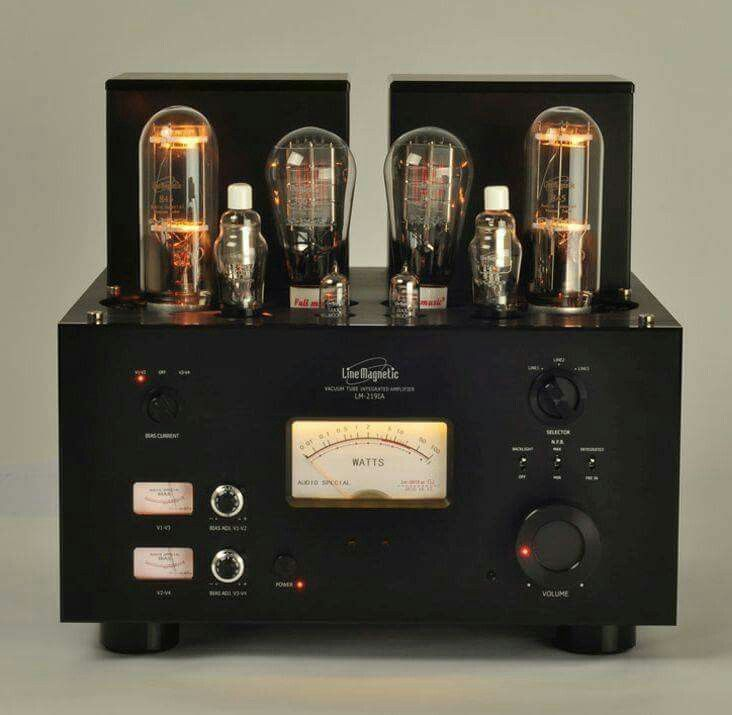 Line Magnetic-LM2191A integrated amplifier high end audio ...