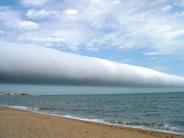 Netmisterios: Nuvens estranhas nos céus do planeta.
