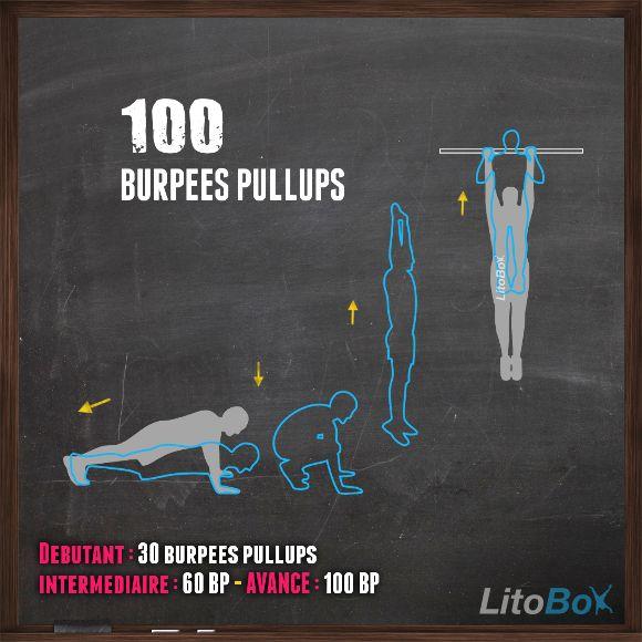 CrossFit au poids du corps entraînement du 14/03 avec burpees pull-ups