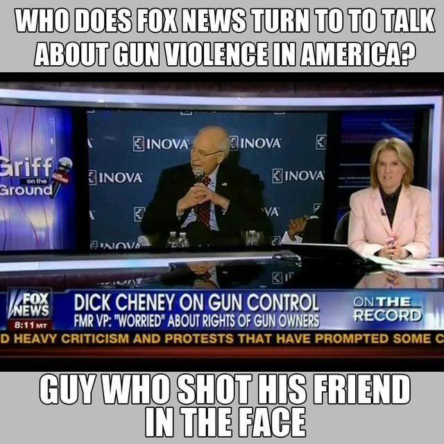 Funniest Memes Mocking Fox News: Fox News Gun Expert