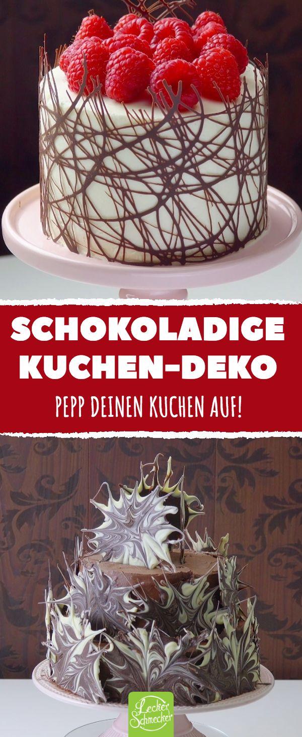 Pastel de chocolate Deco ¡Dale sabor a tu pastel! #Deliciosa #receta #queque # horneado …   – Kuchen & Torten Rezepte