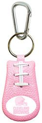 Cleveland Browns Pink NFL Football Keychain