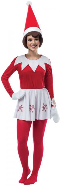 Women's Elf On The Shelf Costume
