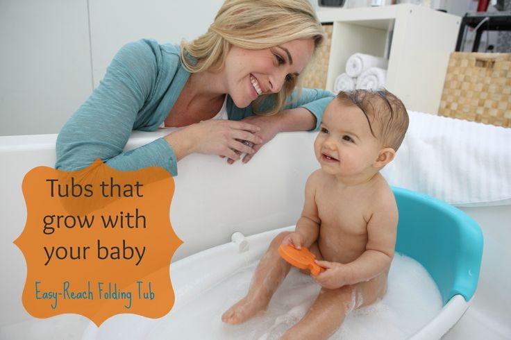 JPMA Certified Easy-Reach™ Folding Tub by Baby's Journey