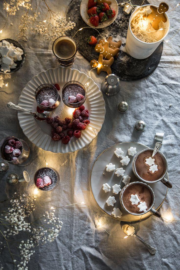 Gingerbread Tiramisu Ice Cream, Amaretti Mocha Mousse, Hot Cardamom Cacao – 20 Minute Christmas Desserts With Nespresso