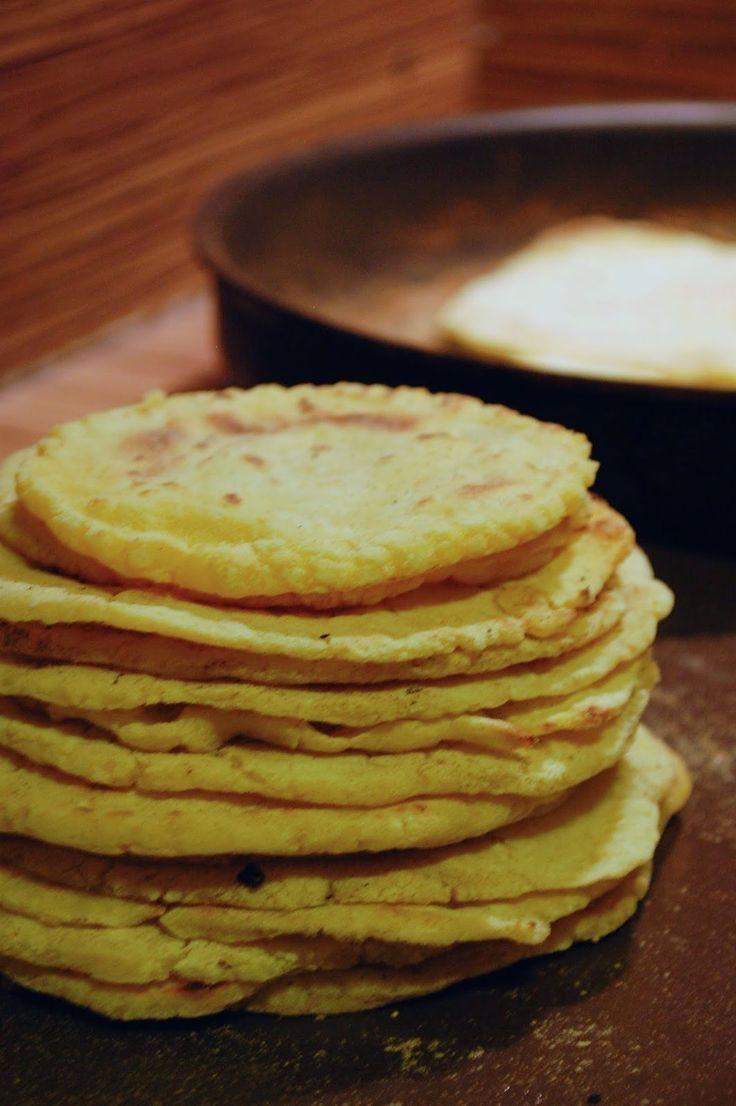 Bramborovo kukuřičné tortily